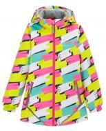 Куртка детская для девочки JOIKS р.122 розовый EW-08