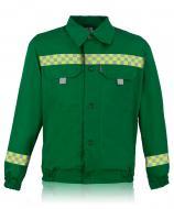 Куртка робоча Торнадо Сервіс 2 р. 52-54 зріст 3-4 01051-01к-52-3 зелений