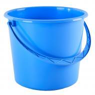 Ведро Алеана круглое 8 л голубой 122008