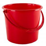 Ведро Алеана круглое 18 л красный 122018
