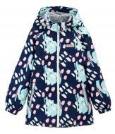 Куртка детская для девочки JOIKS р.134 темно-синий EW-10