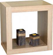 Стеллаж двухсторонний Inteo Кубус МИКС 1х1 438x438x290 мм дуб сонома