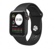 Смарт-часы Smart Watch IWO 12 series T500 с тонометром Black (SW0001T500B)