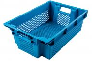 Ящик Пласт-Бокс поворотний перфорований синій