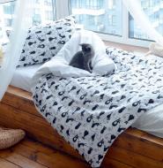 Комплект постільної білизни Cute Kitty Ran-105-1 різнокольоровий SoundSleep
