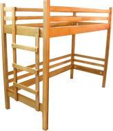 Ліжко-горище ArinWOOD StrongLoft 80x190 см бук