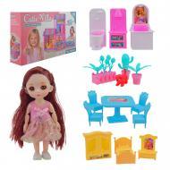 Ігровий будиночок з лялькою ABL1008