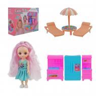 Ігровий будиночок з лялькою ABL1016