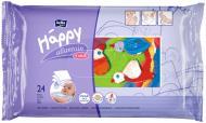 Дитячі вологі серветки Happy з вітаміном Е 24 шт.