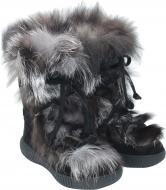 Ботинки Oscar Winter Footwer Black-Silver р. 35 черный