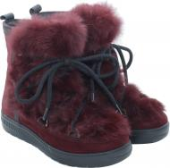 Ботинки Oscar Afterski Boots Dark-Red р. 36 красный
