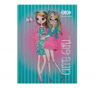 Блокнот Cute Girl А6 64 аркуші бірюзовий ZB.12715-06 ZiBi