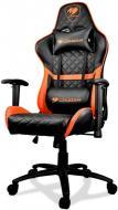 Кресло Cougar Armor One черно-оранжевый