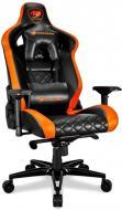 Кресло Cougar Armor Titan черно-оранжевый