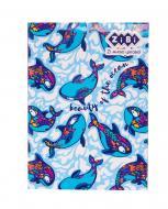 Блокнот Pattern А5 64 аркушів Kids Line, синій ZB.12767-02 ZiBi