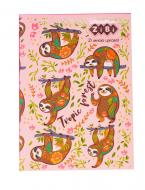 Блокнот Pattern А5 64 аркушів Kids Line, рожевий ZB.12767-10 ZiBi