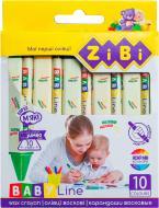 Набір олівців восковий jumbo BABY Line ZB.2482 ZiBi