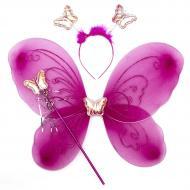 Набір карнавальний Бабочка фуксія 517274