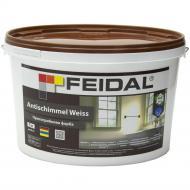 Краска акриловая Feidal Antischimmel Weiss мат белый 5л