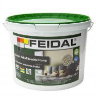Краска акриловая структурная Feidal Innen Relief Beschichtung мат белый 10л