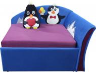 Диванчик малютка Ribeka Пингвинчик (Мечта) Фиолетовый