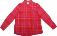 Рубашка детская YCC 3644 р.128-134 терракотовый 16708