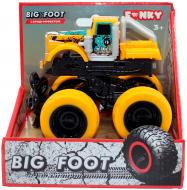 Позашляховик Funky Toys із краш-ефектом жовтий 60005