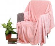 Плед Flannel Embossed Evening Sand 160x200 см рожевий La Nuit