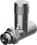 Кран вентильний Royal Thermo ручного регулювання прямий, PIANO (хром) RTE 50.021