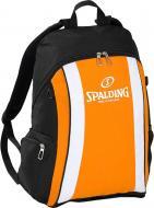 Рюкзак Spalding с сеткой для мяча 300453204 35 л черный с оранжевым