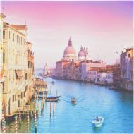 Картина Венеція Гранд-канал КП02-003 30x30 см