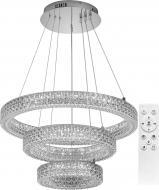 Люстра світлодіодна Hopfen 140 Вт хром AKRILIKA 100R 140W