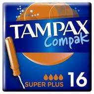Тампони гігієнічні Tampax Compak super plus 16 шт.