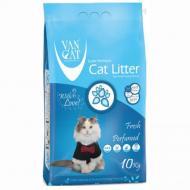 Наполнитель туалетов для кошек Van Cat Fresh Бентонитовый 10 кг (55450)