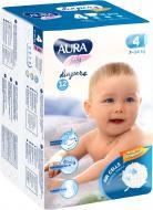 Підгузки Aura 4/L 7-14 кг12шт