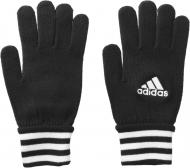 Футбольные перчатки Adidas Football Fieldplayer Z10082 р. M черный