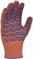 Рукавички Doloni з покриттям ПВХ крапка XL (10) 5 пар 4264