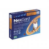 Таблетки Boehringer Ingelheim NexGard Spectra против паразитов для собак XS 2-3.5 кг (56790)