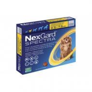 Таблетки Boehringer Ingelheim NexGard Spectra против паразитов для собак S 3.5-7.5 кг 1 таблетка (56