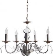Люстра стельова Arte Lamp A6114LM-5WG 5x40 Вт E14 білий