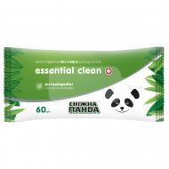 Вологі серветки Сніжна Панда для рук та тіла Essential Clean ромашка 60 шт.