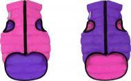 Куртка Airy Vest двостороння для собак XS 25 рожево-фіолетова