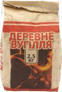 Уголь древесный  7645 2,5 кг