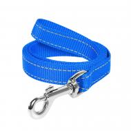 Повідець Dog Extreme з нейлону 2х150 см блакитний