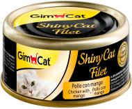 Консерва Gimpet ShinyCat Filet з куркою та манго 70 г