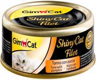 Консерва Gimpet ShinyCat Filet з тунцем і гарбузом 70 г