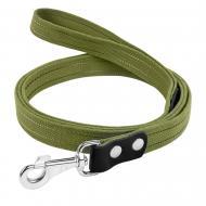 Повідець Collar х/б тасьма 300 см 20 мм зелений