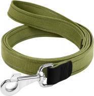 Повідець Collar х/б тасьма 300 см 35 мм зелений