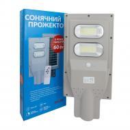 AllTop Світильник консольний LED AllTop соячний 60W 0845B60-01 60 Вт сірий