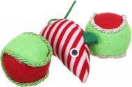 Іграшка для котів Lilli Pet М'ячики та мишка 3 шт